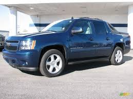 2007 Bermuda Blue Metallic Chevrolet Avalanche LTZ 4WD #39943664 ...