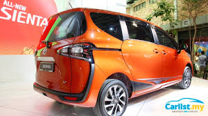 new car launch in malaysia 20162016 Toyota Sienta Officially Launched in Malaysia  From RM92900
