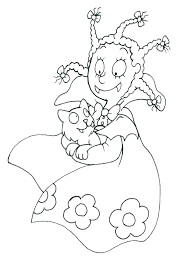 Anime Drawing Coloring Pages Anime Cats Drawing At Animation