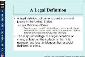 Criminal Justice Definition Crime And Its Consequences Ppt Video Online Download