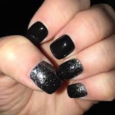 Nail Designs : Black And Silver Nail Art Tumblr Cool Colors of ...