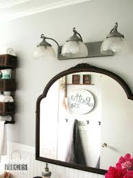 best of vintage bathroom light fixtures and budget friendly farmhouse style bathroom makeover by prodigal pieces