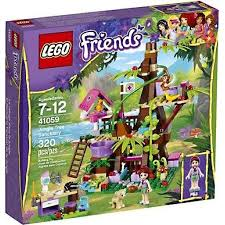 LEGO Friends Jungle Tree House Exclusive Set 41059  WalmartcomFriends Lego Treehouse