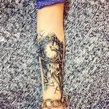3d большая временная татуировка мужские водонепроницаемые татуировки рукава для