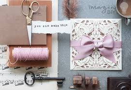 Make Your Invitation How To Make Luxurious Laser Cut Invitations Imagine Diy