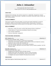 Free Entry Level Resume Templates Entry Level Resume Template Free