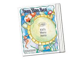 Kid Friendly Placemats For Restaurants Kidstar