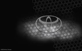 toyota logo black background. Brilliant Toyota Toyota Brand Logo Design Background HD Wallpaper To Black N
