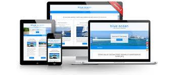 3 Template Blue Ocean Free Joomla 3 9 Template Joomla Templates