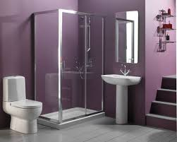 bathroom peachy bathroom design inspiration fabulous purple bathroom featuring short staircase and brushed stainless