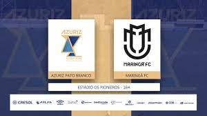 Azuriz - Azuriz Pato x MARINGÁ FC