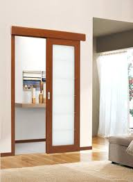 sliding glass doors interior modern sliding wood interior door with frosted glass insert safety doors designs in india