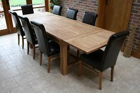 spacious delightful design 8 person dining table set beautifully