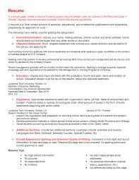 Analytical Skills Resumes Resume And Cover Letter Assignment Busn 320 La Tech