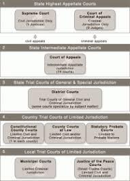 Texas Court System Flow Chart Australian Federal Court