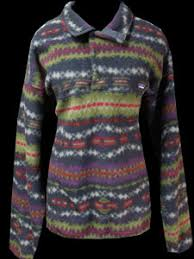 Patagonia Patterned Fleece Gorgeous Womens Vintage Clothing Patagonia Patterned Fleece XLarge Monster