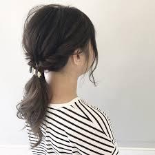 ヘアアレンジ 涼しげ 色気 透明感free Hairstylist Shinya 新谷 朋宏
