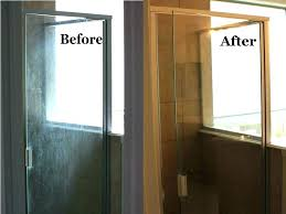 how to remove hard water stains from glass clean large size of cleaning h
