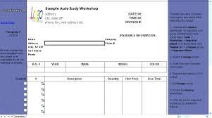 auto body repair invoice cell phone repair invoice template auto invoices receipt