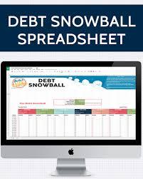 Debt Snowball Spreadsheet One Beautiful Home