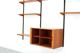 danish modern shelving system by for 4 mid century diy unit
