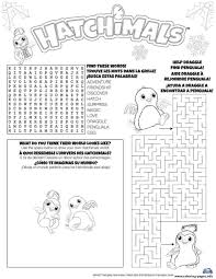 Print Hatchimals Hatch Game Coloring Pages Hatchimales