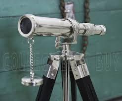 Decorative Telescopes 100 Doland London Brass Authentic Telescope 7