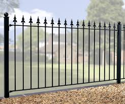 Small Picture Metal Fencing Wrought Iron Garden Fence Panels Wrought Iron