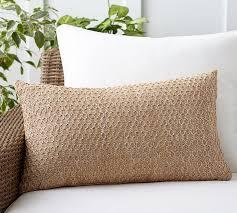 pillow 26 x 26. honeycomb faux fiber indoor/outdoor pillow, 16 x 26\ pillow 26