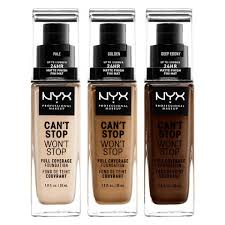 Nyx Foundation Color Chart Foundation Nyx Professional Makeup