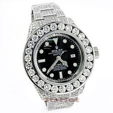 sea dweller deepsea mens custom diamond watch 32 55ct rolex sea dweller deepsea mens custom diamond watch 32 55ct