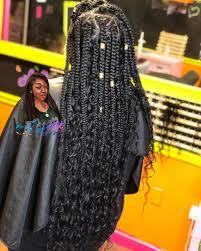 Pin by Twila Schroeder on Deniz | Box braids styling, Braided hairstyles,  Box braids hairstyles