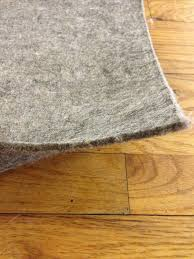 supreme 32tm 100 recycled felt area rug pad for area rugs safe for wood floors
