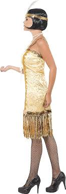 Find great deals on ebay for gold glitter vinyl. Amazon Com Smiffy S Charleston Flapper Costume Clothing