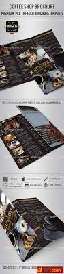 Coffee Shop- Tri-Fold Brochure Psd Template » Free Download ...