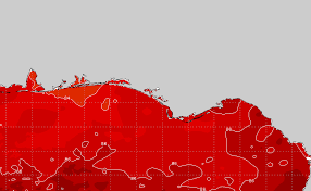 Panhandle Water Temp Sea Surface Temperature Chart Sst