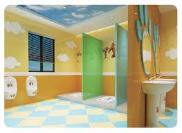 China Produkt Kindergarten Design Badezimmer Niedlich Farbe Keramik