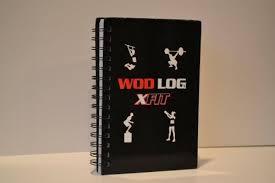 Crossfit Wod Log Book By X Fit Wish List Pinterest Crossfit