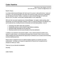 Sample Cover Letter For Hospitality Industry Job And Resume Template