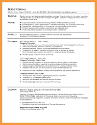 11 Computer Technician Resume Pdf Network Cable Pc Sample 9 Tech