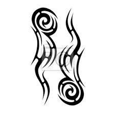 Fototapeta Tattoo Tattoo Tribal Vector Design Jednoduché Tetování Logo