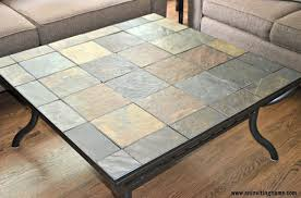 slate coffee table furniture