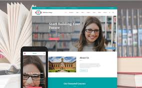 College Templates 35 Best Education Html Website Templates 2019