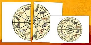 Chinese Zodiac Wheel Chinese New Year Zodiac China