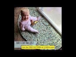 easy crochet rugs crochet bathroom rug crochet circular rug pattern