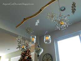 Anyone Can Decorate: My DIY Christmas Ornament Chandelier