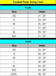 Champro Youth Football Pants Size Chart Football Pants