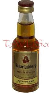 Brandy Meister Scharlachberg 36% 40ml miniatura