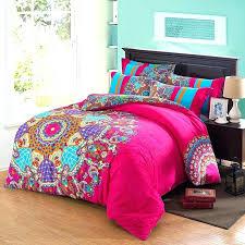 hot pink and aqua bedding comforter sets queen size purple orange