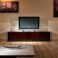 Low Glass Cabinet Modern Tv Cabinet Stand Black Glass Stainless Steel Rosewood 131